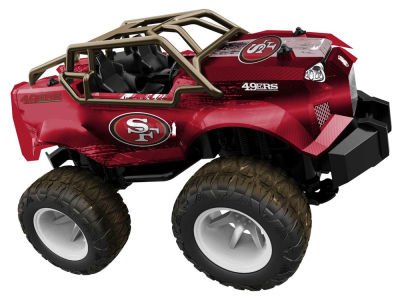 San Francisco 49ers R/C Monster Trucks