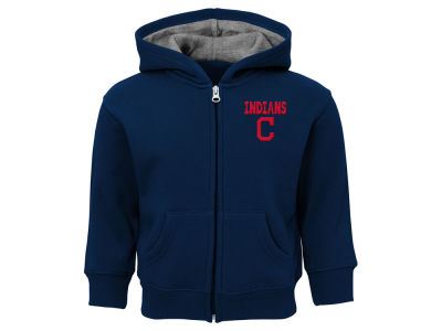 Cleveland Indians Outerstuff MLB Toddler Inside the Park Full Zip Hoodie