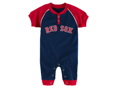 Boston Red Sox Outerstuff MLB Newborn Game Time Coverall