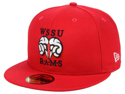Winston-Salem State Rams New Era NCAA AC 59FIFTY Cap