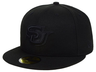 Southern Jaguars New Era NCAA Core Black on Black 59FIFTY Cap