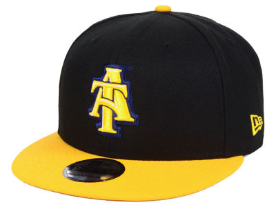 North Carolina A&T Aggies New Era NCAA Black Team Color 9FIFTY Snapback Cap