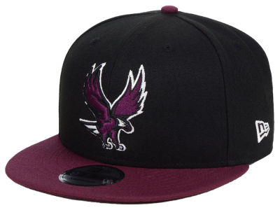 North Carolina Central University Eagles New Era NCAA Black Team Color 9FIFTY Snapback Cap