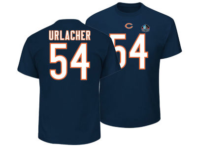 Chicago Bears Brian Urlacher Majestic NFL Men's Hall of Fame Eligible Receiver Triple Peak T-Shirt