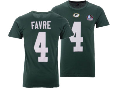 Green Bay Packers Brett Favre Majestic NFL Men's Hall of Fame Eligible Receiver Triple Peak T-Shirt