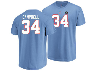 Houston Oilers Earl Campbell Majestic NFL Men s Hall of Fame Eligible  Receiver Triple Peak T- fc0a8610c