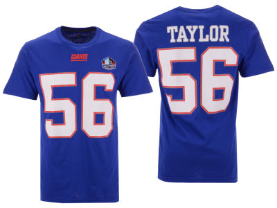 New York Giants Lawrence Taylor Majestic NFL Men's Hall of Fame Eligible Receiver Triple Peak T-Shirt