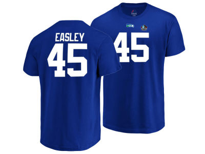 Seattle Seahawks Kenny Easley Majestic NFL Men's Hall of Fame Eligible Receiver Triple Peak T-Shirt