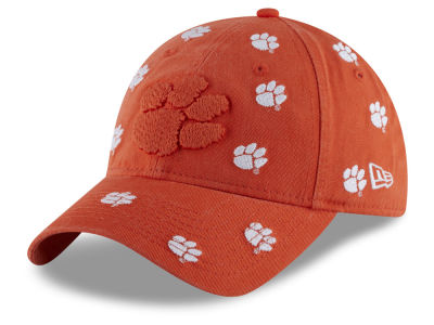 be7724a7638 Clemson Tigers New Era NCAA Women s Logo Scatter Cap