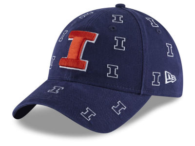 Illinois Fighting Illini New Era NCAA Women s Logo Scatter Cap 0f35ea8417