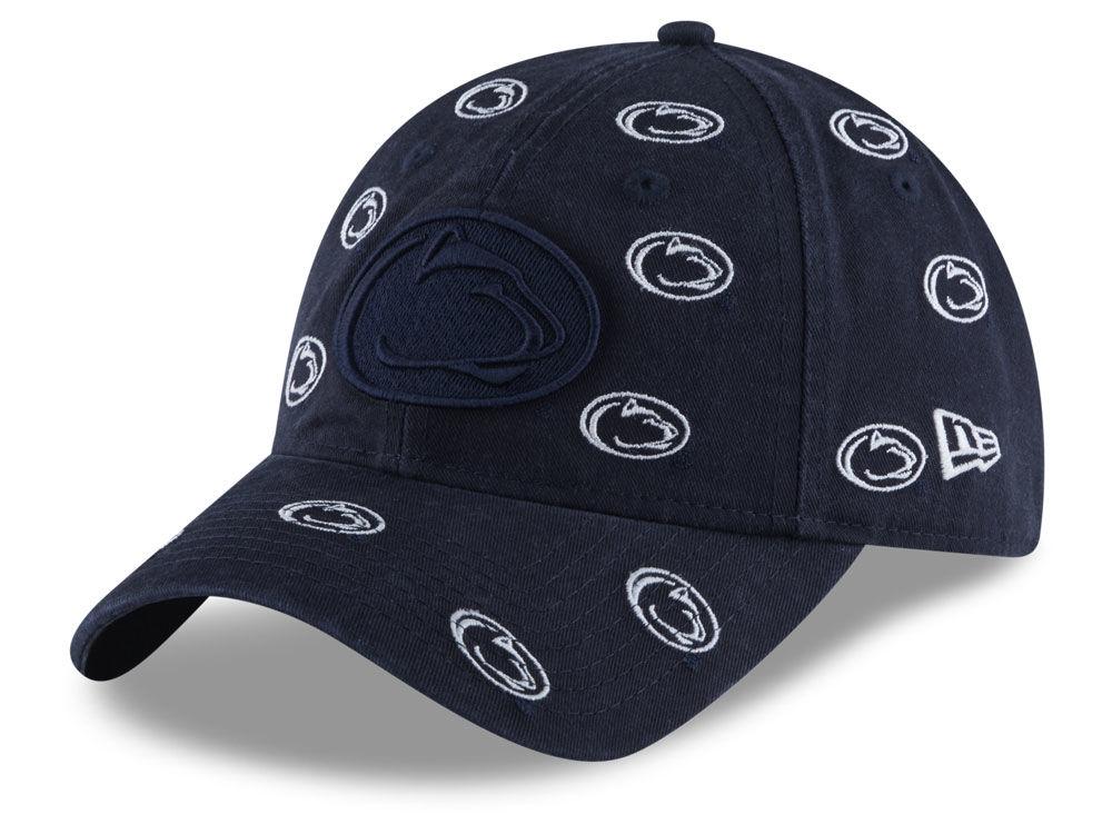 Penn State Nittany Lions New Era NCAA Women s Logo Scatter Cap ... 8ab0d77fb6a