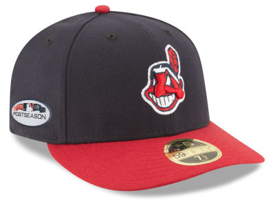 Cleveland Indians New Era 2018 MLB Postseason Patch Low Profile 59FIFTY Cap