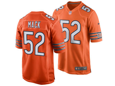 6fba96b3a77 ... clearance chicago bears khalil mack nike nfl mens game jersey ded06  62794