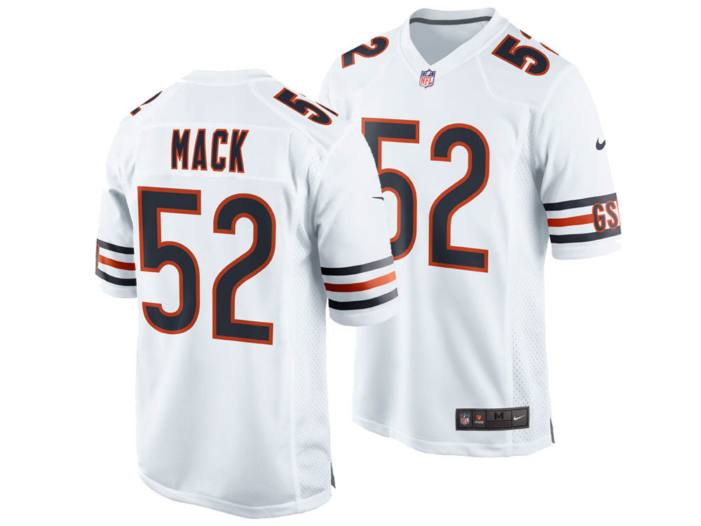 Chicago Bears Khalil Mack Nike NFL Men s Game Jersey  8a2aa594d