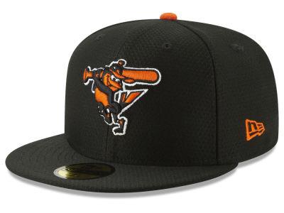 af6b1ef1c0c Baltimore Orioles New Era 2019 MLB Batting Practice 59FIFTY Cap