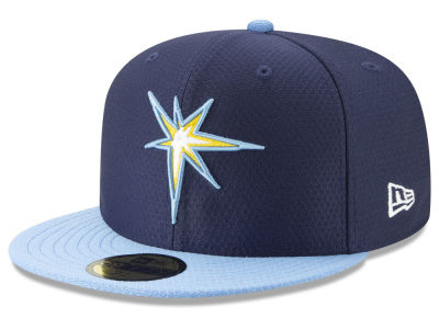 Tampa Bay Rays New Era 2019 MLB Batting Practice 59FIFTY Cap