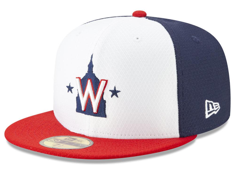 Washington Nationals New Era 2019 MLB Batting Practice 59FIFTY Cap ... 75bdc28d9500