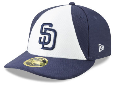 San Diego Padres New Era 2019 MLB Batting Practice Low Profile 59FIFTY Cap 2c3f721f236d