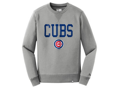 Chicago Cubs New Era MLB Men's Premium Crew Sweatshirt