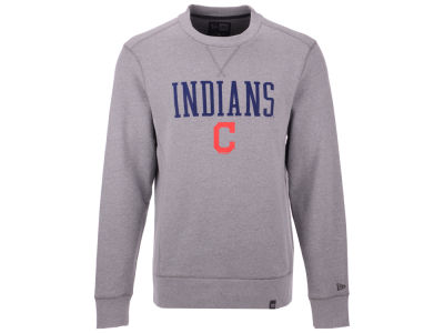 Cleveland Indians New Era MLB Men's Premium Crew Sweatshirt