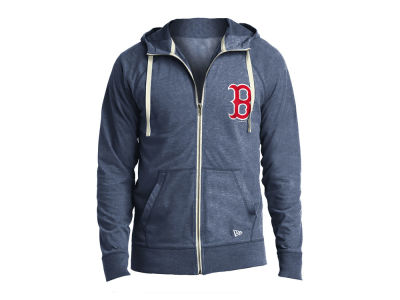 Boston Red Sox New Era MLB Men's Sueded Full Zip Hoodie