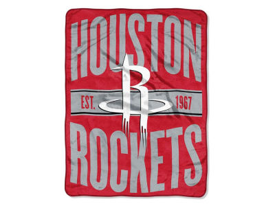 "Houston Rockets The Northwest Company NBA Micro Raschel 46x60 ""Clear Out"" Throw Blanket"