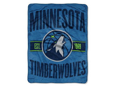 "Minnesota Timberwolves The Northwest Company NBA Micro Raschel 46x60 ""Clear Out"" Throw Blanket"