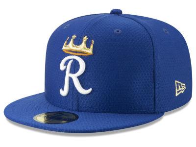 Kansas City Royals New Era 2019 MLB Kids Batting Practice 59FIFTY Cap dd9fe29af9c7