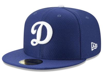 Los Angeles Dodgers New Era 2019 MLB Kids Batting Practice 59FIFTY Cap e96dcc69d5f7