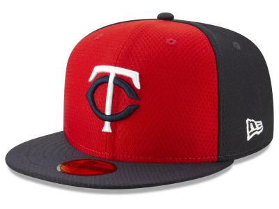 Minnesota Twins New Era 2019 MLB Kids Batting Practice 59FIFTY Cap c18f64c7f504