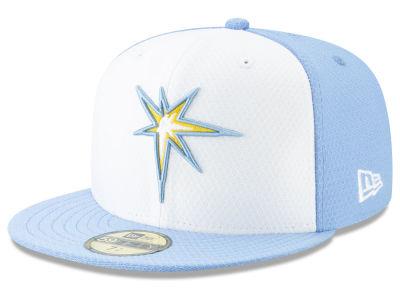 dbacfb16b25 Tampa Bay Rays New Era 2019 MLB Kids Batting Practice 59FIFTY Cap