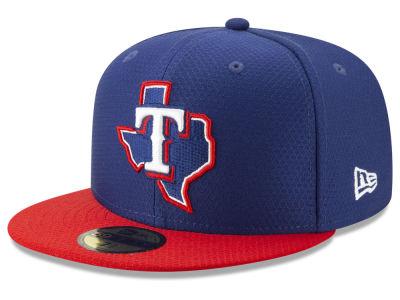 464c5c5812c Texas Rangers New Era 2019 MLB Kids Batting Practice 59FIFTY Cap