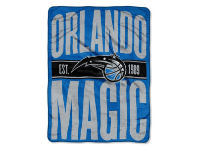 "Orlando Magic The Northwest Company NBA Micro Raschel 46x60 ""Clear Out"" Throw Blanket"
