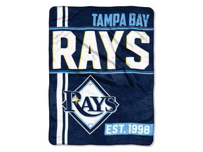 "Tampa Bay Rays The Northwest Company Micro Raschel 46x60 ""Walk Off"" Blanket"