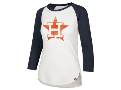 Houston Astros '47 MLB Women's Imprint Splitter Raglan T-Shirt