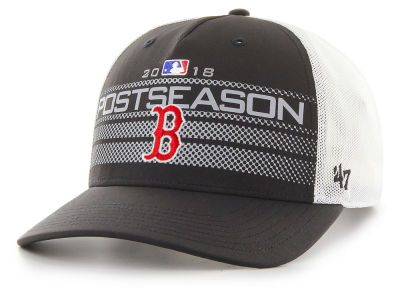 Boston Red Sox '47 2018 MLB Postseason Locker Room Cap
