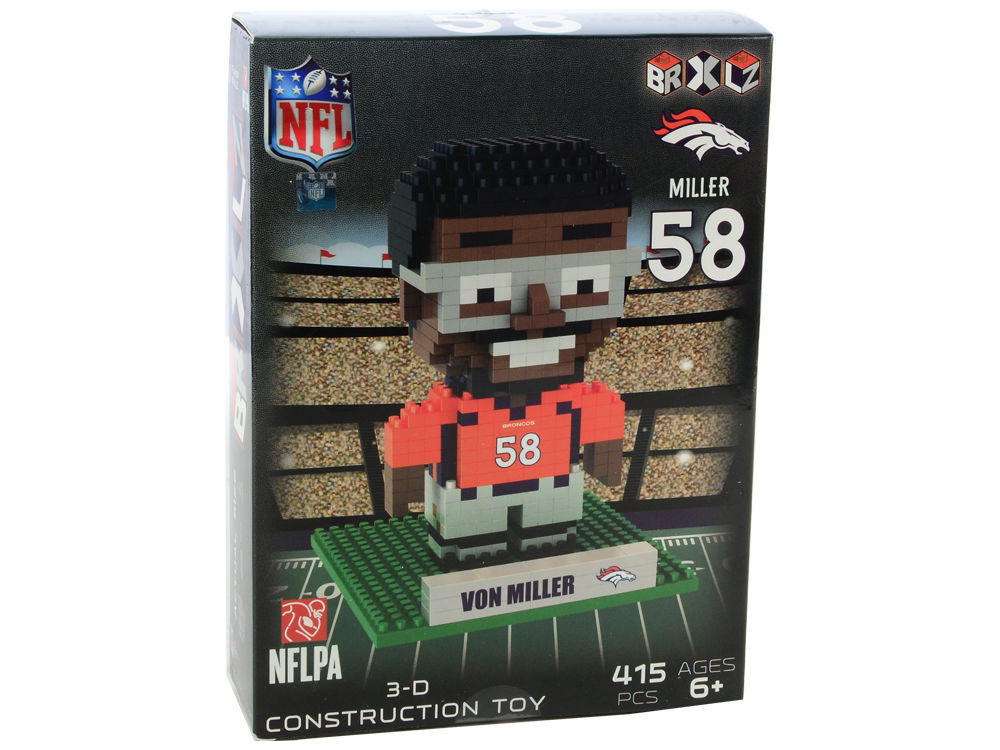 Denver Broncos Von Miller Forever Collectibles 3D Player Puzzle ... 796186697