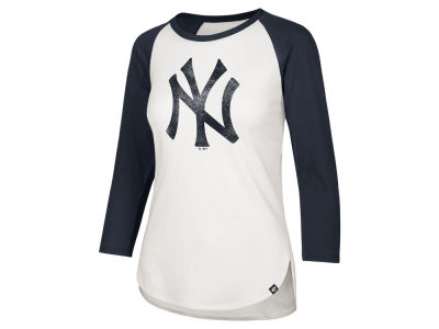 New York Yankees '47 MLB Women's Imprint Splitter Raglan T-Shirt