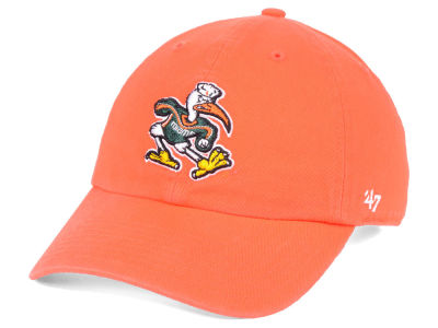 Miami Hurricanes  47 NCAA  47 CLEAN UP Cap c69f10ddc6f