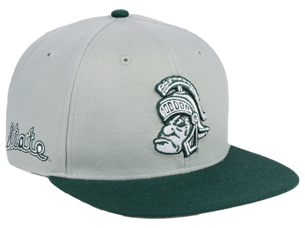 Michigan State Spartans  47 NCAA Sure Shot 2 Tone CAPTAIN Cap  f37c0e62c35