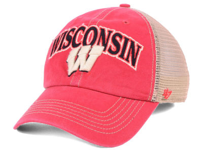 100% authentic fa9f6 bc953 Wisconsin Badgers  47 NCAA Tuscaloosa Mesh CLEAN UP Cap