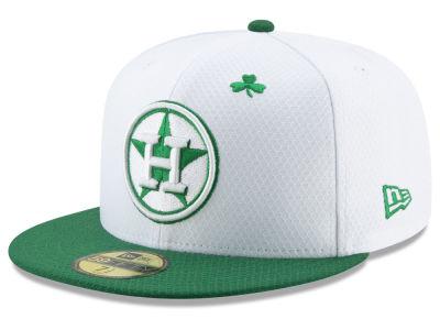 best service 25c88 8e9d2 Houston Astros New Era 2019 MLB St. Paddys Day 59FIFTY Cap