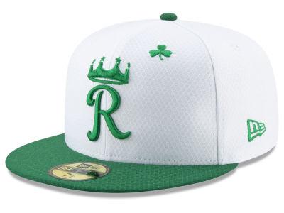 Kansas City Royals New Era 2019 MLB St. Paddys Day 59FIFTY Cap eeeb54efacea