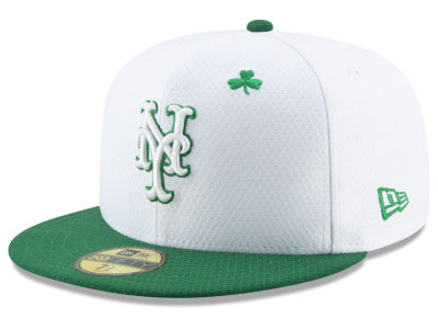 New York Mets New Era 2019 MLB St. Paddys Day 59FIFTY Cap 3bd67302a3d