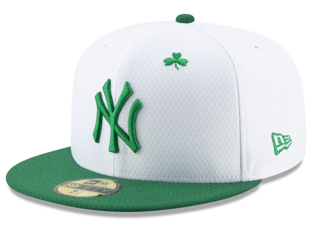 fde2fa54074 New York Yankees New Era 2019 MLB St. Paddys Day 59FIFTY Cap