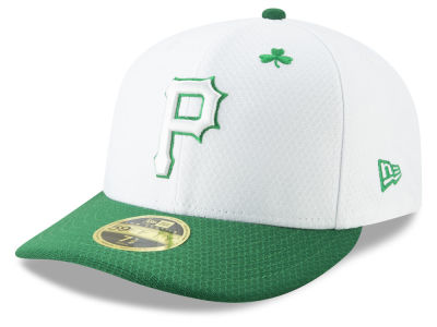 8256147d5ea Pittsburgh Pirates New Era 2019 MLB St. Paddys Day Low Profile 59FIFTY Cap