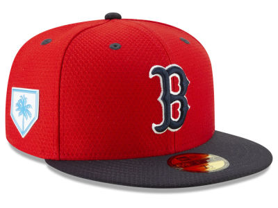 ef62a00520d Boston Red Sox New Era 2019 MLB Spring Training 59FIFTY Cap