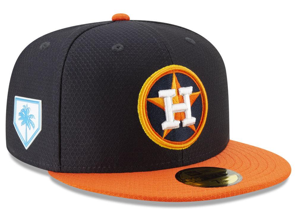b67c11229 Houston Astros New Era 2019 MLB Spring Training 59FIFTY Cap