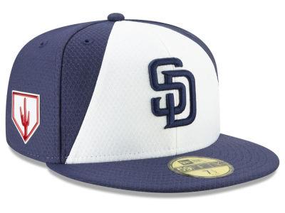 da2da90f2b3 San Diego Padres New Era 2019 MLB Spring Training 59FIFTY Cap