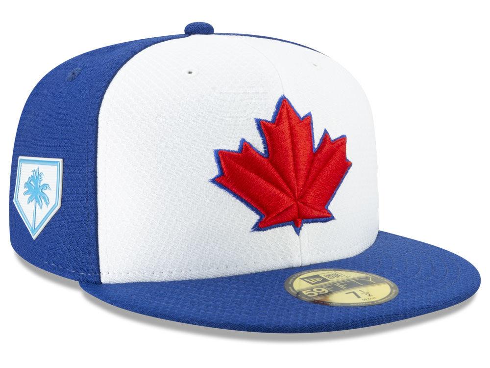 Toronto Blue Jays New Era 2019 MLB Spring Training 59FIFTY Cap  dd21012ca96b